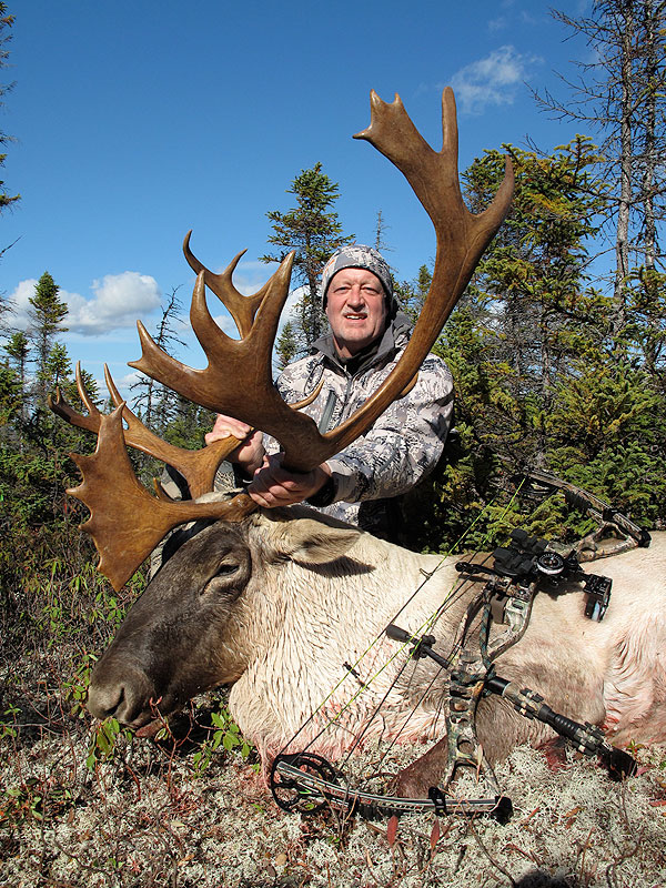 Chase Fulcher shot all 5 NA caribou in one year